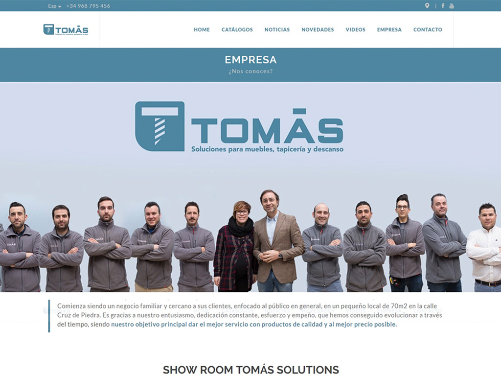 Tomas Solutions