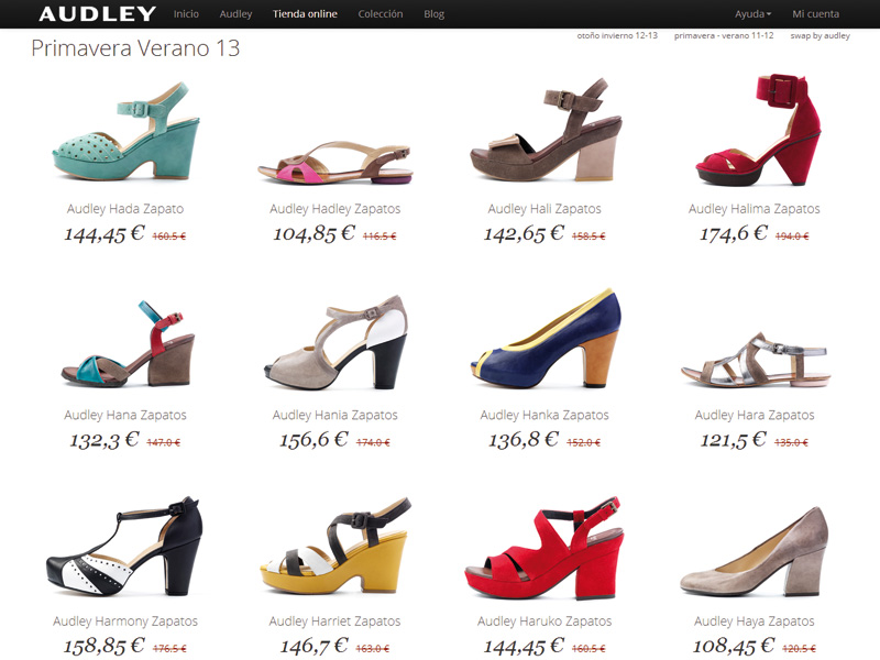 audley shoes